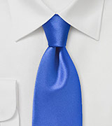 Bright Cobalt Blue Necktie