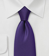 Mulberry Purple Necktie
