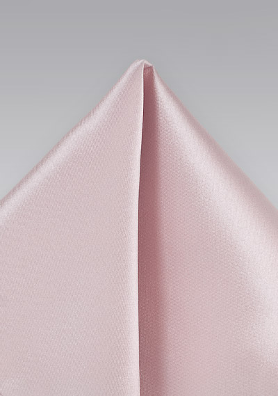 Antique Pink Pocket Square