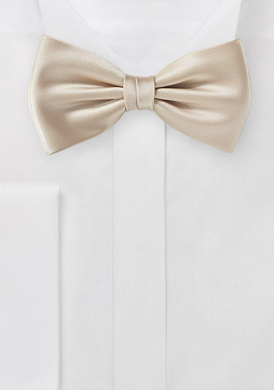 Bow Tie in Golden Champagne