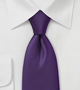 Designer Tie in Deep Purple