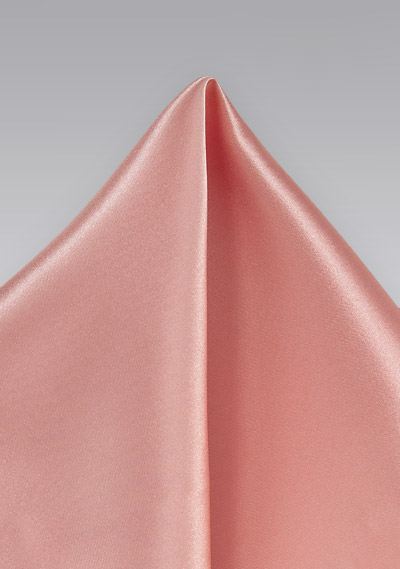 Victorian Pink Pocket Square