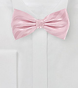Mens Bow Tie in Cotton Candy Pink