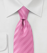 Narrow Rose Petal Neck Tie