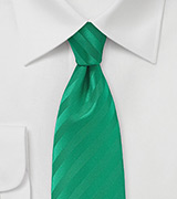 Narrow Fresh Emerald Neck Tie