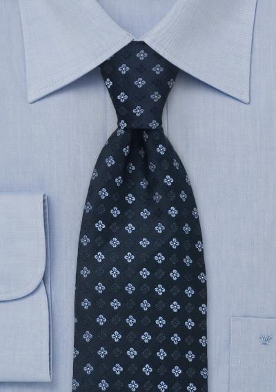 Cravate En Soie Laco Rayé Bleu Marine RBAdBWwT