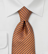 Striped designer tie Handmade necktie by Laco, Germany