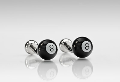 Eight Ball Cufflinks