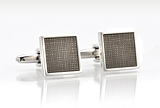 Designer Cufflinks in Silver & Bronze