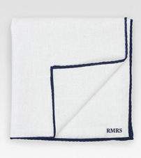 Limited Edition Linen Pocket Square