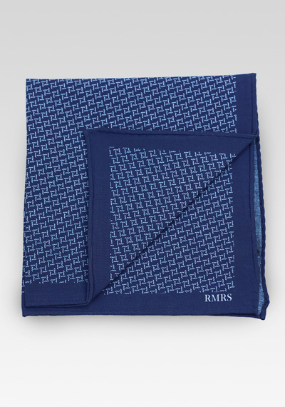 RMRS Cotton Pocket Square