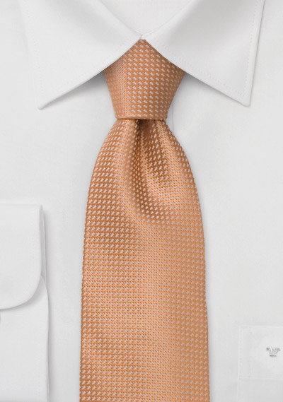 Apricot Orange Kids Tie