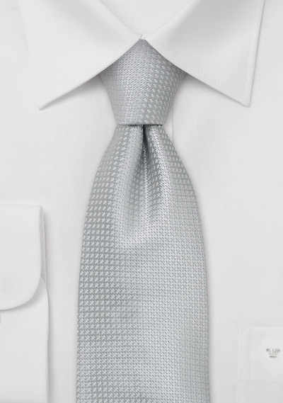 silk neckties elegant silver colored silk tie