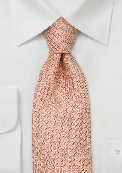 Brand name neckties<br>Pink silk tie by Chevalier