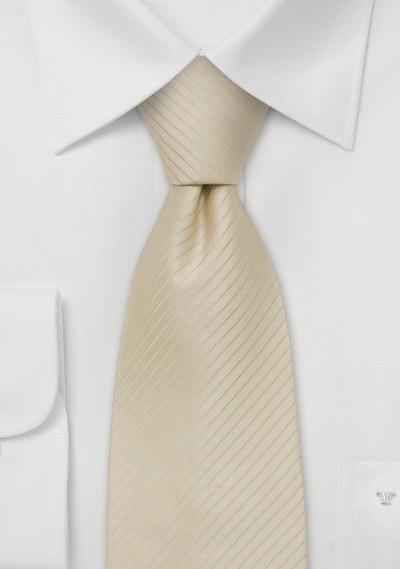 Light Tan Silk Tie Cream Tan Colored Necktie