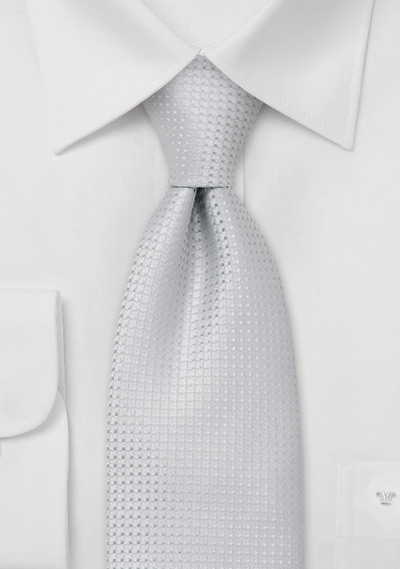 Solid color ties<br> Light gray-blue necktie