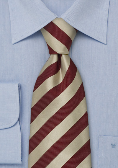 Extra Long Striped Neckties<br>Striped Tie \&quot;Identity\&quot; by Parsley