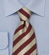 "Extra Long Striped Neckties Striped Tie ""Identity"" by Parsley"