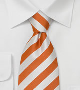 "Striped Extra Long Mens Ties Striped Necktie ""Identity"" by Parsley"
