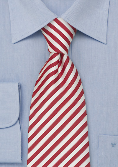 Striped Silk Ties<br>Striped Tie \&quot;Signals\&quot; by Parsley