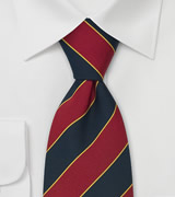 "Regimental Ties British Necktie ""Oxford"""