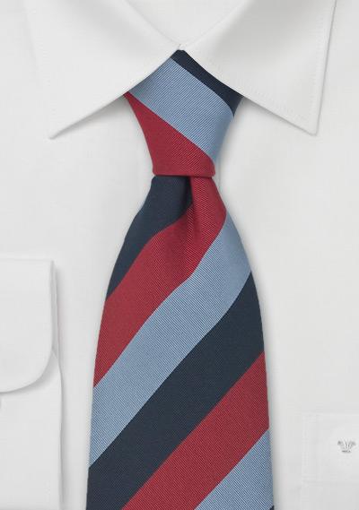 British Regimental Neckties British Striped Tie Stafford
