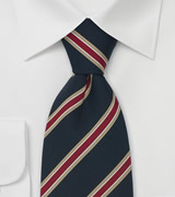 "British Neck Ties British Striped Tie ""Cambridge"""