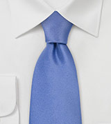 Extra Long Necktie in Carolina Blue