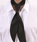 Formal Black Womens Tie