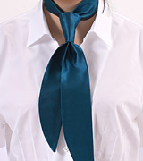 Turquoise Blue Womens Tie