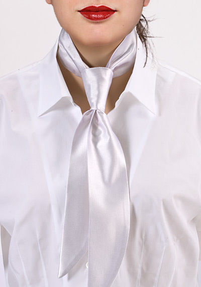 Bright White Women\'s Neckerchief