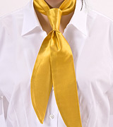 Golden Yellow Womens Neckerchief