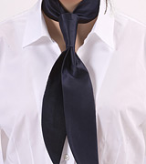 Dark Navy Womens Tie