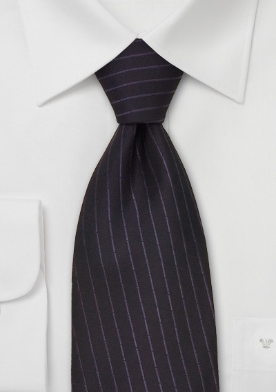 Silk Tie With Checkered Pattern