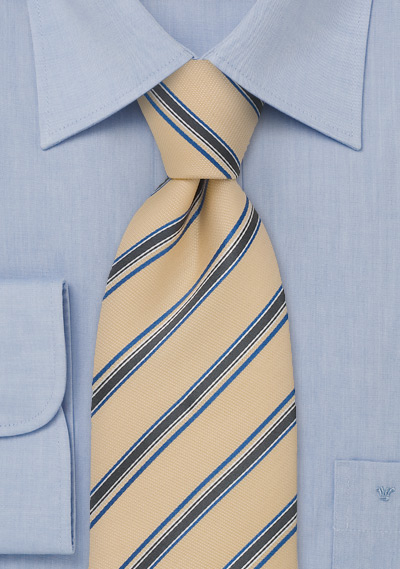 Yellow Silk Tie by Chevalier