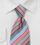 Striped Business Tie
