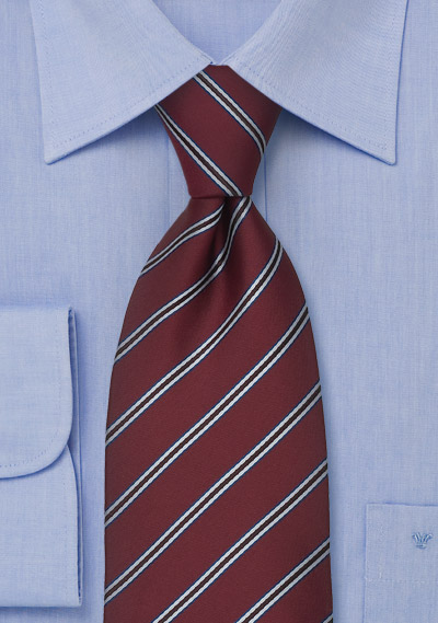 maroon neckties maroon color striped tie