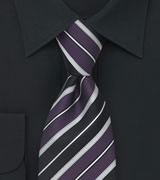 Italian Striped Tie by Cavallieri