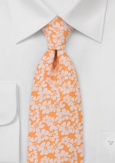 Orange Mens Dress Shirt