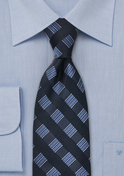 Midnight Blue Designer Tie