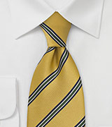 British Tie in Collegiate Gold