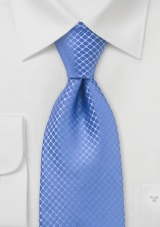 Cornflower Blue Tie in XXL
