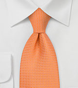 Apricot Orange Extra Long Tie