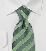 Modern Bright Green Silk Tie