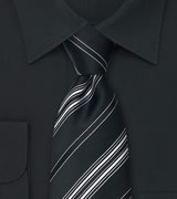 Formal Designer Ties Formal Striped Tie by Cavallieri