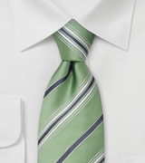 Mint Green Silk Ties Green Designer Tie by Cavallieri