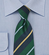 Essential Regimental Tie in Green