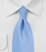 Hydrangea Blue Tie in XL Length