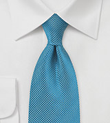 Pure Silk Tie in Blue Moon Color