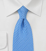 Art Dec Tie in Spring Blues